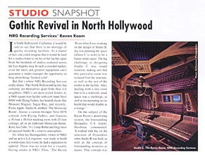 Audio Media: Gothic Revival in North Hollywood