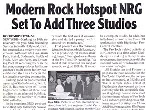 Billboard: Modern Rock Hotspot NRG Set To Add Three Studios