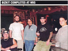 Music Connection: Bizkit Completes at NRG