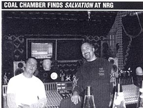 Music Connection: Coal Chamber Finds Salvation at NRG
