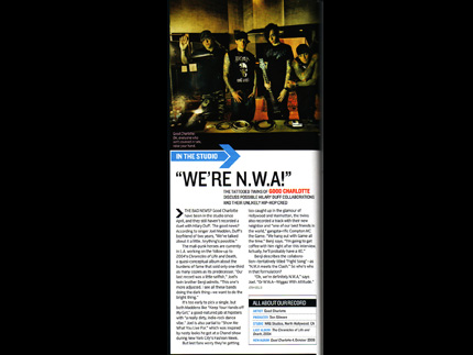 "Good Charlotte (Blender Magazine): Good Charlotte (In The Studio ""We're N.W.A!"")"